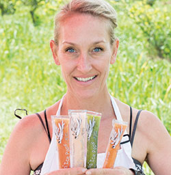 Kimberli Haris | Fairyella Ice Pops all natural, healthy ice pops California