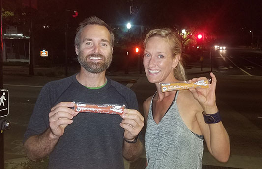 Man and women with Ice Pop | Pure Pops by Fairyella all natural, healthy ice pops California